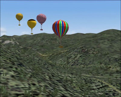 FS2004 Hot Air Balloon download
