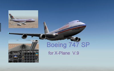 Boeing 747 SP for X-Plane
