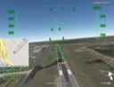 Google Earth's flight sim