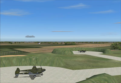 Screenshot of Team SDB's RAF Goxhill Scenery for FSX and FS2004