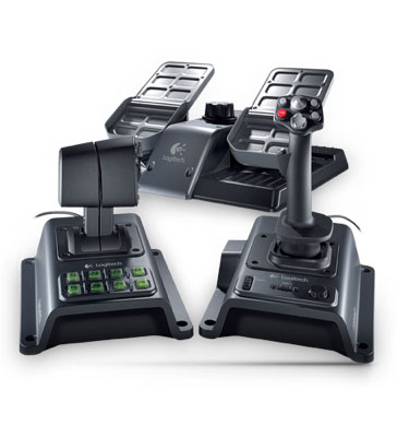 Logitech G940 Flight Simulation Controller