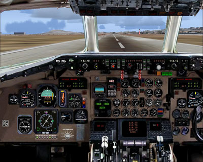 MD-90 panel for FS2004
