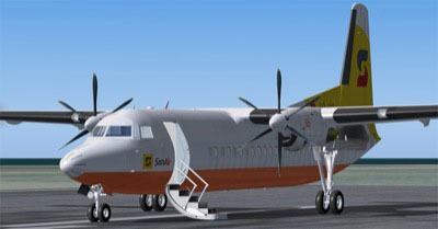 PAOB's Fokker 50 aircraft add-on