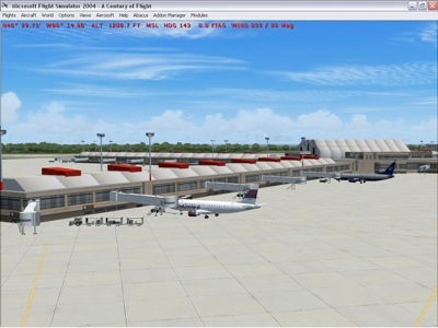Pittsburgh International (KPIT) Scenery