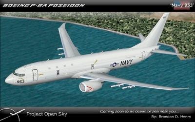 US Navy Boeing P8A Poseidon