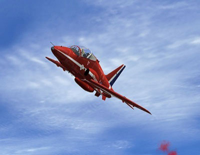 Red Arrows Hawk for FS2004