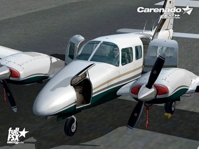 Carenado Release Piper PA-34 200T Seneca II for Microsoft Flight