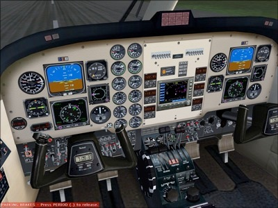 Beechcraft Super King Air 300 Virtual Cockpit