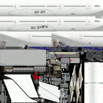 Paint kit for Airbus A333/A343