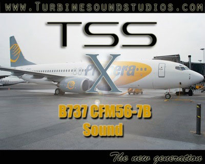TSS 737 sound pack for FSX