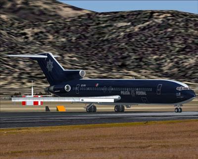 FSX Mexicana Boeing 727-200