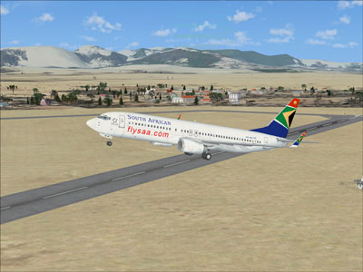 FSX South African Airways Boeing 737-800