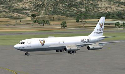 FSX Boeing 707-321C