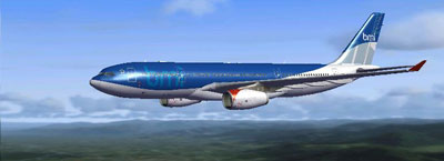 BMI Airbus A330 for FSX