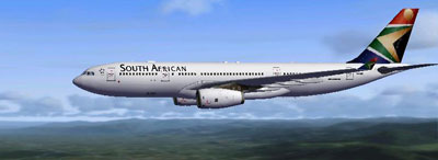 South African Airways Airbus A330-200 for FSX