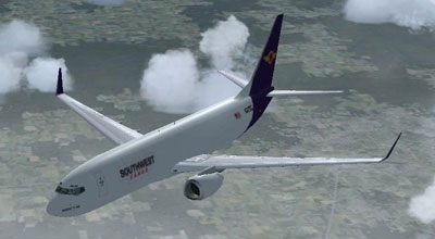 Southwest Cargo Boeing 737-800 for FSX