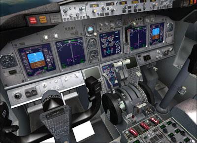 FSX Default Boeing 737-800 Texture Fix