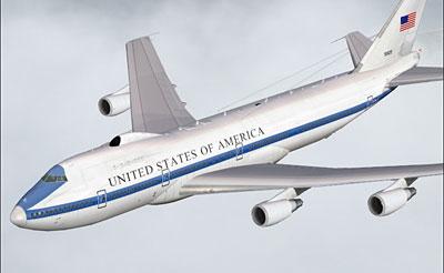 Boeing E-4B Nightwatch for FS2004