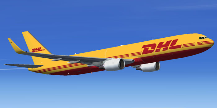 DHL Boeing 767-300ER G-DHLE for FSX: http://flyawaysimulation.com/downloads/files/4014/fsx-dhl-boeing-767-300er-g-dhle