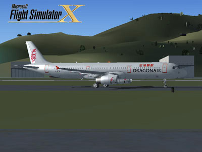 FSX Dragonair Airbus A321