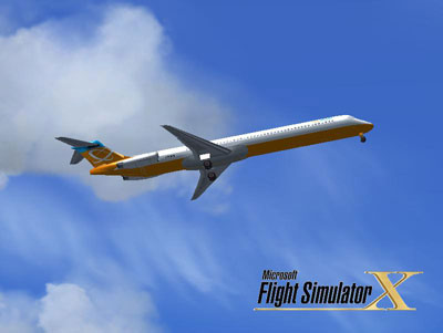 MD-83 Orbit Airlines for FSX
