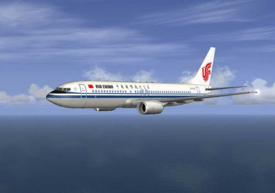 Air China Boeing 737-800.