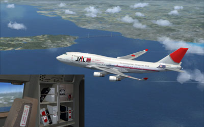 JAL Boeing 747-400 50th anniversary livery