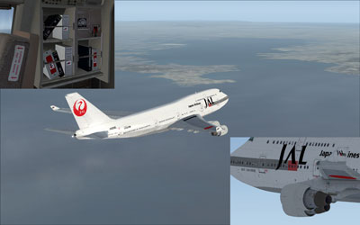 JAL Boeing 747-400