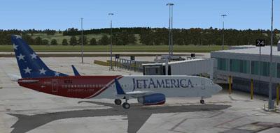 Jet America Boeing 737-800 for FSX