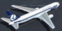 LOT Polish Airlines Boeing 767-300ER.