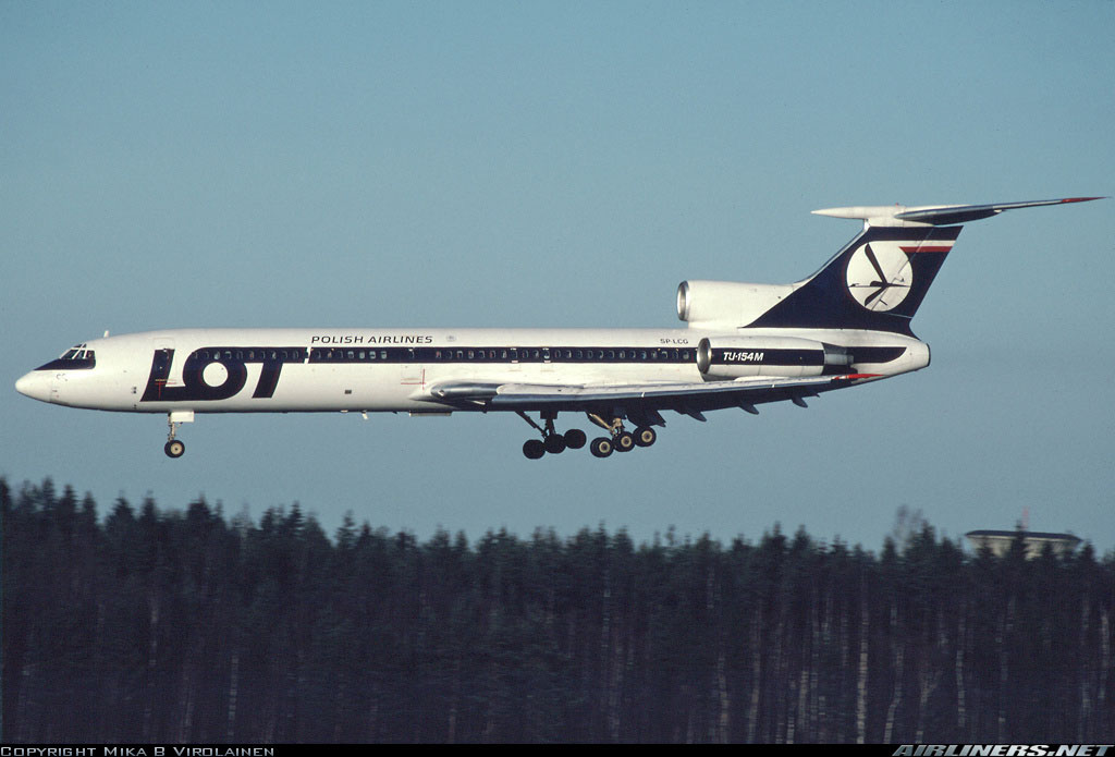 Lot Polish Airlines Tupolev Tu 154 For Fsx