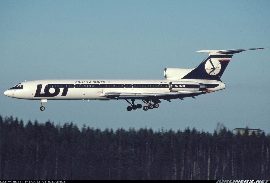 Lot Polish Airlines Tupolev Tu 154 For Fsx