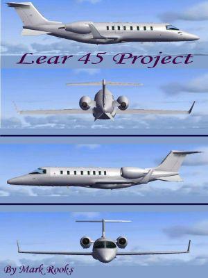 Blank LearJet 45