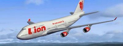 Lion Air Boeing 747