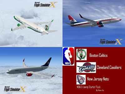 NBA Livery Boeing 737-800