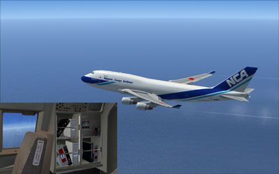 NCA Boeing 747-400