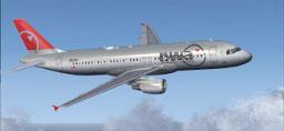NWA A321 VC Merge