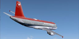 FSX NWA Airbus A319-111