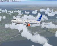 SAS Airbus A319.