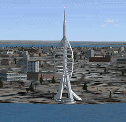 Portsmouth Spinnaker Tower Scenery for Microsoft Flight Simulator X