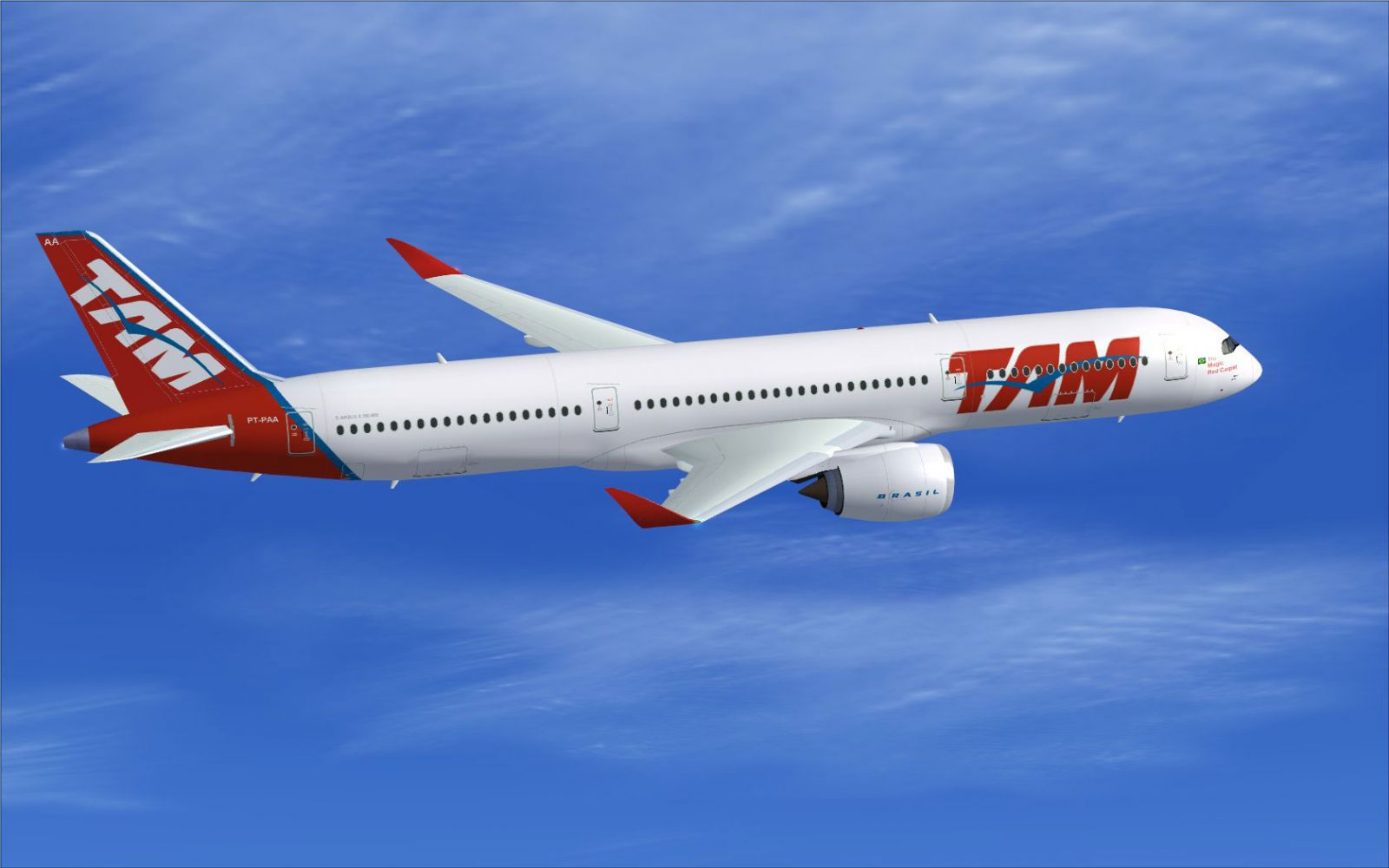 Tam Airbus A350 900 Xwb For Fsx