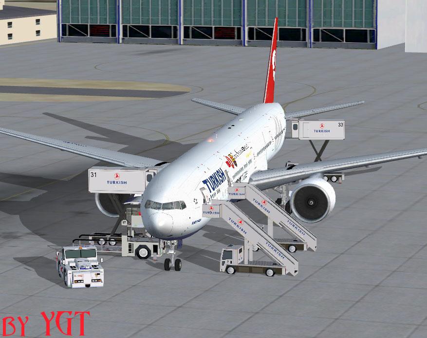 THY Barcelona Boeing 777-300ER for FSX