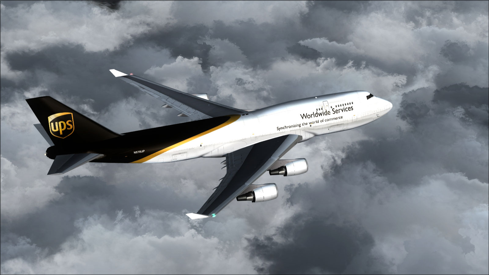 UPS Boeing 747-400F/BCF for FSX