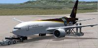 UPS Boeing 777-200 Freighter.