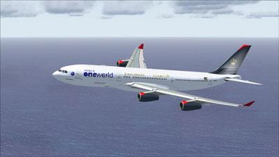 Royal Jordanian Airbus A340-200 FSX