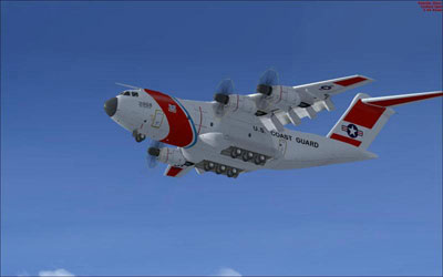 A400 in US Coast Guard livery