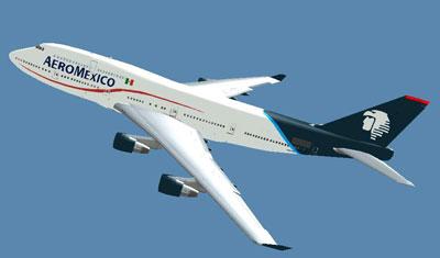 Aeromexico Boeing 747-400 for FSX