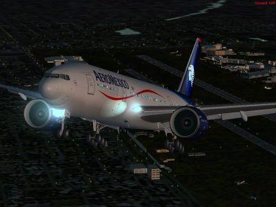 Aeromexico Boeing 777-200ER.