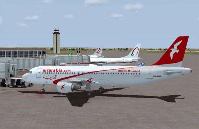 Air Arabia Maroc A320-214.