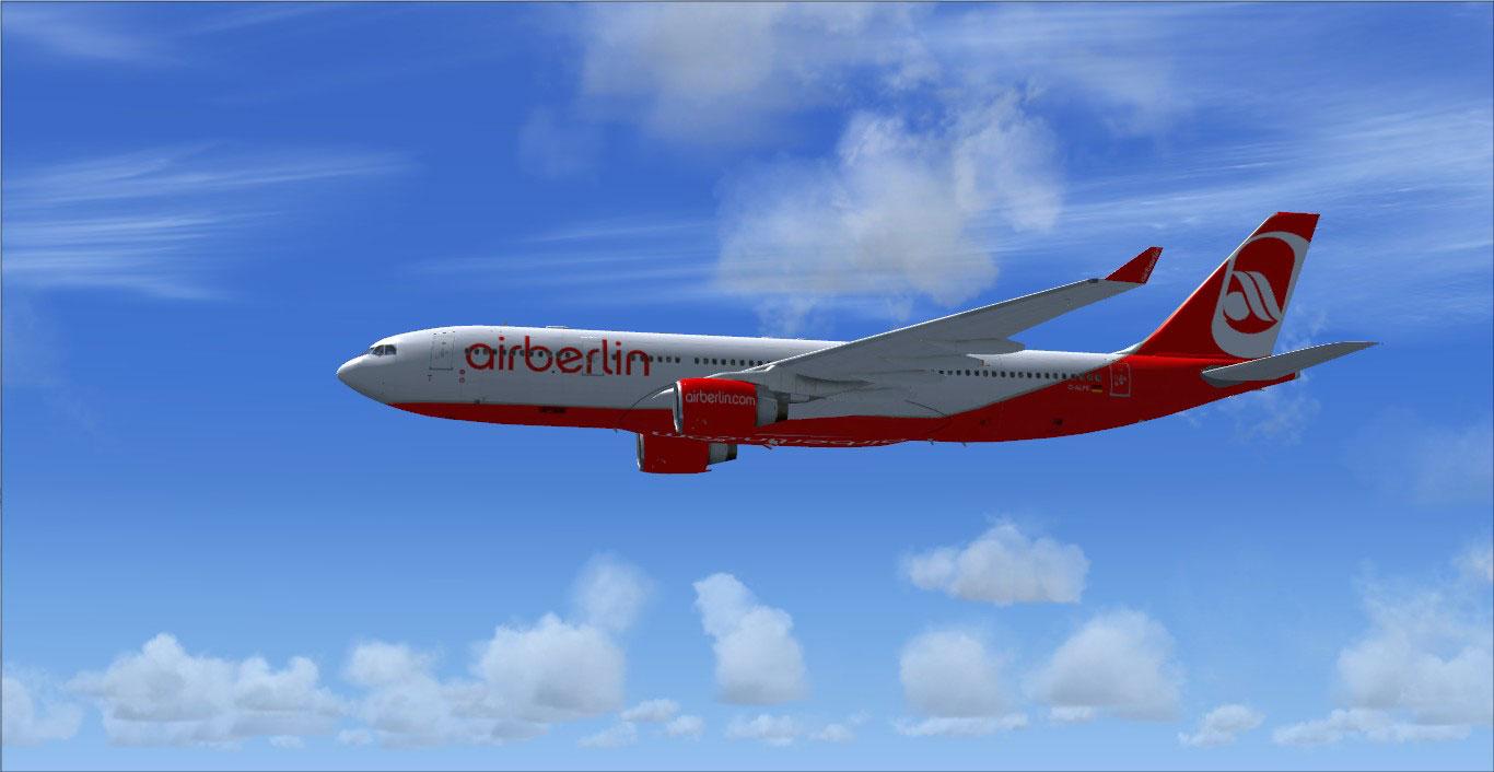 air berlin airbus a330200 for fsx